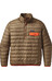 Patagonia M's Down Snap-T Pullover Ash Tan